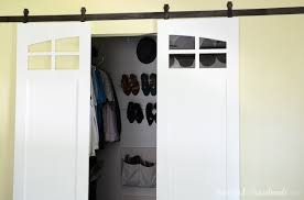 add farmhouse style to your home with these sliding closet barn doors get the free