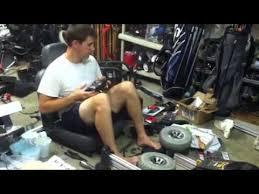 Aaron Makin lawn mower - YouTube
