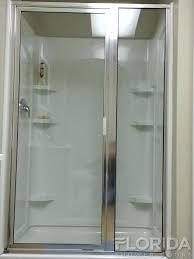 shower doors custom framed incline shower enclosure chrome clear anodized aluminum custom glass shower doors baton