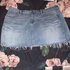 Treasure Bond Denim Skirt