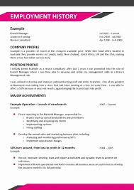 Cv Example Hotel Job Images Certificate Design And Template