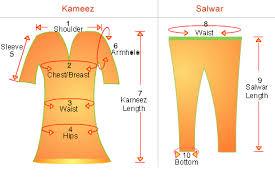 Hijabi Sews And So Can You Salwar Kameez Measurement Chart