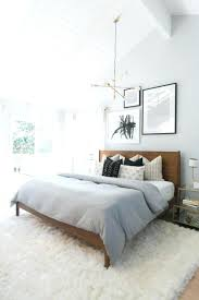 grey fluffy bedroom rugs soft for smooth design ideas best rug and white plus