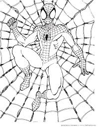 If you've landed on this page chances are your youngster can't get enough of spiderman. Spiderman Pictures To Color For Kids Coloring Home
