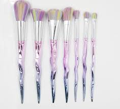 unicorn horn brushes6 unicorn horn brushes