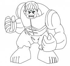 The Hulk Coloring Pages Printable Printable Coloring Page For Kids