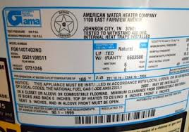 premier plus water heater. Wonderful Water An Premier Plus Water Heater So The Data Plate Shown Below Indicates  That Heater Was Manufactured In 2005 Be Sure To Not Confuse Product Inside Water Heater O