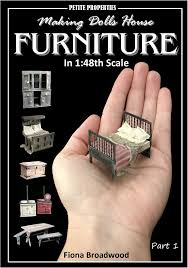 making doll furniture. Making Dolls House Furniture In 1:48th Scale Making Doll Furniture