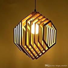 hexagon light fixture loft style wooden hexagon modern pendant light fixtures for dining room hanging lamp home lighting industrial pendant lighting pendant