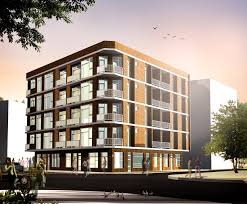 Brick Apartment Building Illustration And Old Apartment Building - Modern apartment building facade
