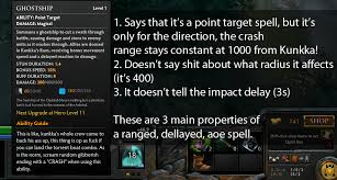 now i knew dota2 had some half assed spell descriptions but this