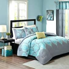 light grey bedding set comforter twin turquoise bed and white gold fitted sheet light grey bedding