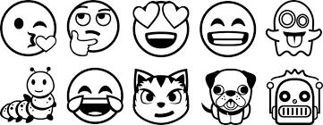 Kleurplaat Smiley Drol Emoji Zum Ausmalen 35 Kindergeburtstag Emoji