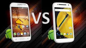 Samsung Galaxy prevail LTE VS Moto E ...