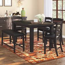 bo 6 piece counter height dining set