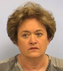 Courtesy Travis County Sheriff's Office. Rosemary Lehmberg's booking photo from Friday, April 19, 2013. - lehmberg_041913