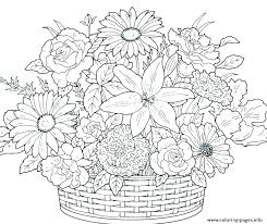 Free Spring Flower Coloring Sheets Colouring Page Of Spring Images