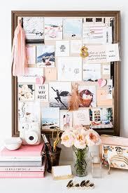 pink office desk. take a peek inside sara muelleru0027s pretty pink home office desk