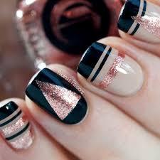 25 Geometric Ways To Make Pretty Nail Arts nails Nägel