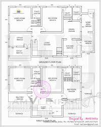 attractive 2000 sq ft house plans kerala style below 2 bedroom 1000