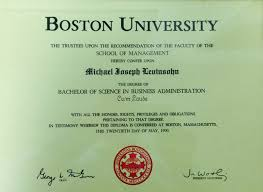 boston university diploma levinsohn associates boston university diploma