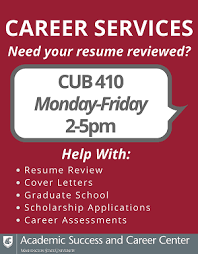 Need Your Resume Reviewed Student Involvement