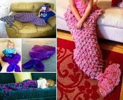 Mermaid Blanket Crochet Pattern Cool Crochet Mermaid Projects Lots Of Free Patterns The WHOot