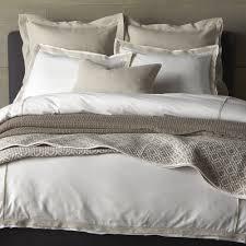 Linen Comforter Set | Linen Bed Sheets | Crate and Barrel Duvet Covers