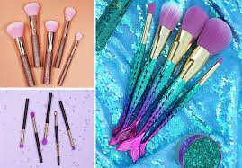 tarte minutes to mermaid brush set be a mermaid make waves collection only 29 reg 42