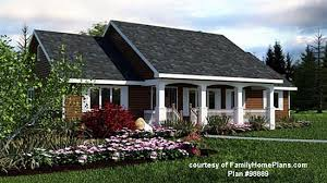 House Plans   Porches   Wrap Around Porch House PlansRanch home from Family Home Plans