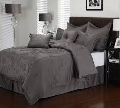 absolutely smart charcoal grey comforter set light gray white twin queen pale bedding sets