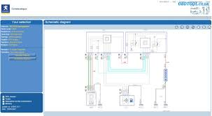read peugeot wiring diagrams with peugeot service box obd2diagtool how to wire an electrical panel at Service Box Wiring