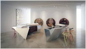 Innovative Kitchen Design Classy Nyskapende Kjøkken Kurvet Benkeplater Interiør Inspirasjon