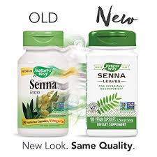 Nature's Way <b>Senna Leaves</b> for Occasional Constipation <b>1,350 Mg</b> ...