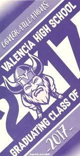Graduation Cover Photo Senior Info And Graduation 2018 Miscellaneous Valencia High School