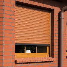 Rollladen Braun Kaufen Rollladen In Braun Tönen Fensterblickde