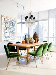 smart ideas green velvet dining chairs beautiful emerald and pine table light warm weling