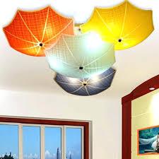 childrens bedroom lighting bedroom light fixtures modern children bedroom ceiling lamps umbrella glass lampshade kids room