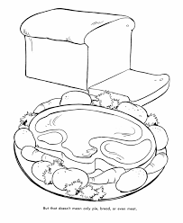 Small Picture Thanksgiving Dinner Coloring Page Sheets Thanksgiving Meat