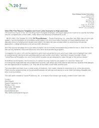 Sample Of Resume Cover Letter Format Resume Cover Letter Format