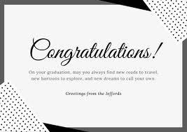 Congratulations Email For New Job Customize 211 Congratulations Card Templates Online Canva