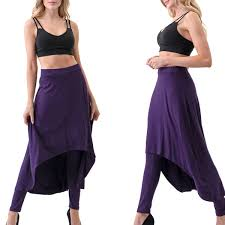 Ella Samani Womens Pants With Skirt Overlay Plus Sizes Available