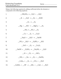 outstanding balancing equations answers worksheet answer key chemfies balancing equations worksheet answer key worksheet large
