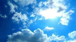 Blue sky wallpaper ...