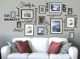 medium size of family picture frame wall decor tree free is vinyl lettering e art