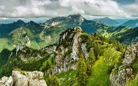 Outdoor Nature Mountains View From Dzhengal Peak Pirin Mountain