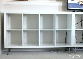 home office ikea expedit. Bookshelf How To Add Feet An Shelf Desk Organizing Your Home Office With The Via Ikea Expedit S