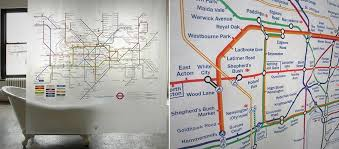 this is the related images of London Underground Shower Curtain