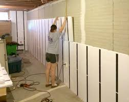 building basement walls best of drywall basement walls without insulation