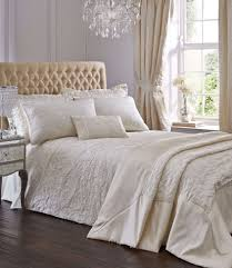 ivory colour king size spencer duvet cover